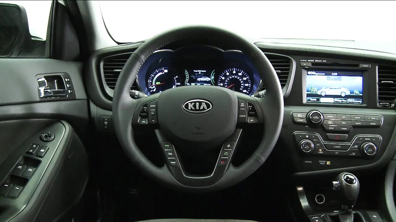 High Quality 2011 Kia Optima Hybrid INTERIOR