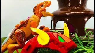ЛЕГО Динозаври мультики для дітей. Вирішальний бій – 3 серія: Мутирозавр проти Гібридів Индоминуса
