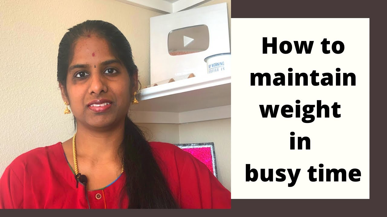 Weight Loss Tips in Tamil | Practical tips to Reduce and Maintain Weight