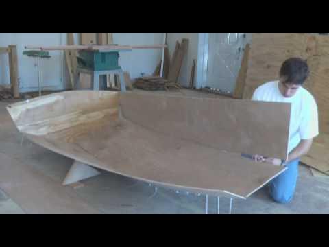 Tango Skiff XL Stitch and Glue Okoume Wooden Boat | Doovi