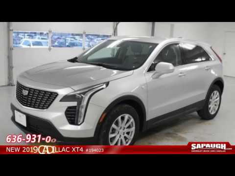New 2019 Cadillac XT4 For Sale St Louis Missouri - YouTube