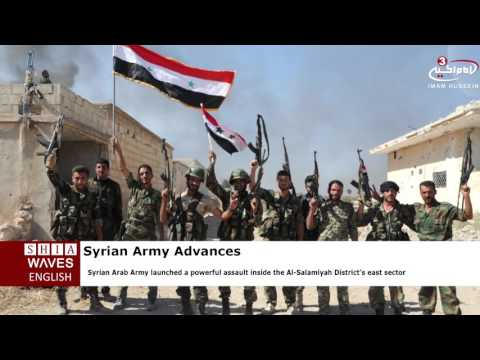 Syrian Army advances into ISIS' heartland in east Hama