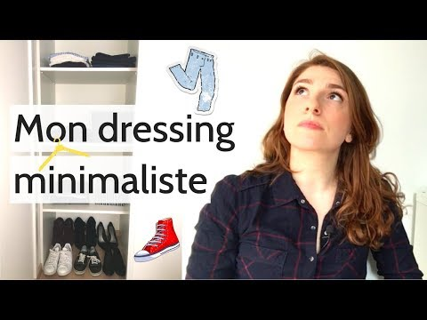 comment avoir un dressing minimaliste dressing tour youtube. Black Bedroom Furniture Sets. Home Design Ideas
