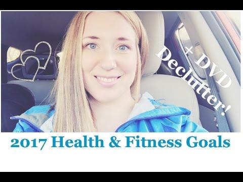 2017 Health & Fitness Goals - DVD Declutter