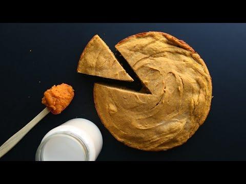 Healthy Low Calorie Pumpkin Cake Recipe (125 Calories) | Dairy Free Low Fat Cake
