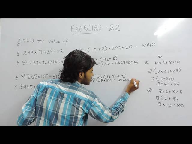 Exercise 2.2 (Whole Numbers) Question 3 NCERT/CBSE Solutions for Class 6th Maths