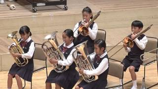小学校部門No.2 さいたま市立三橋小学校/ブラスバンドのための小組曲第1番/第22回日本管楽合奏コンテスト