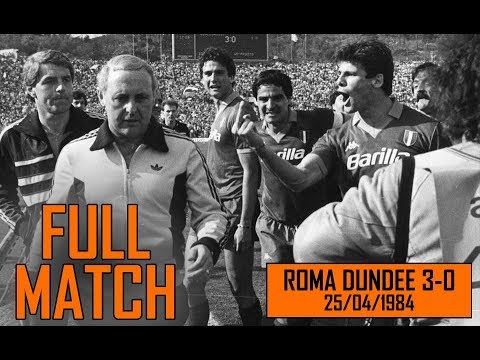Roma Dundee 3-0 | Full match 25/04/1984