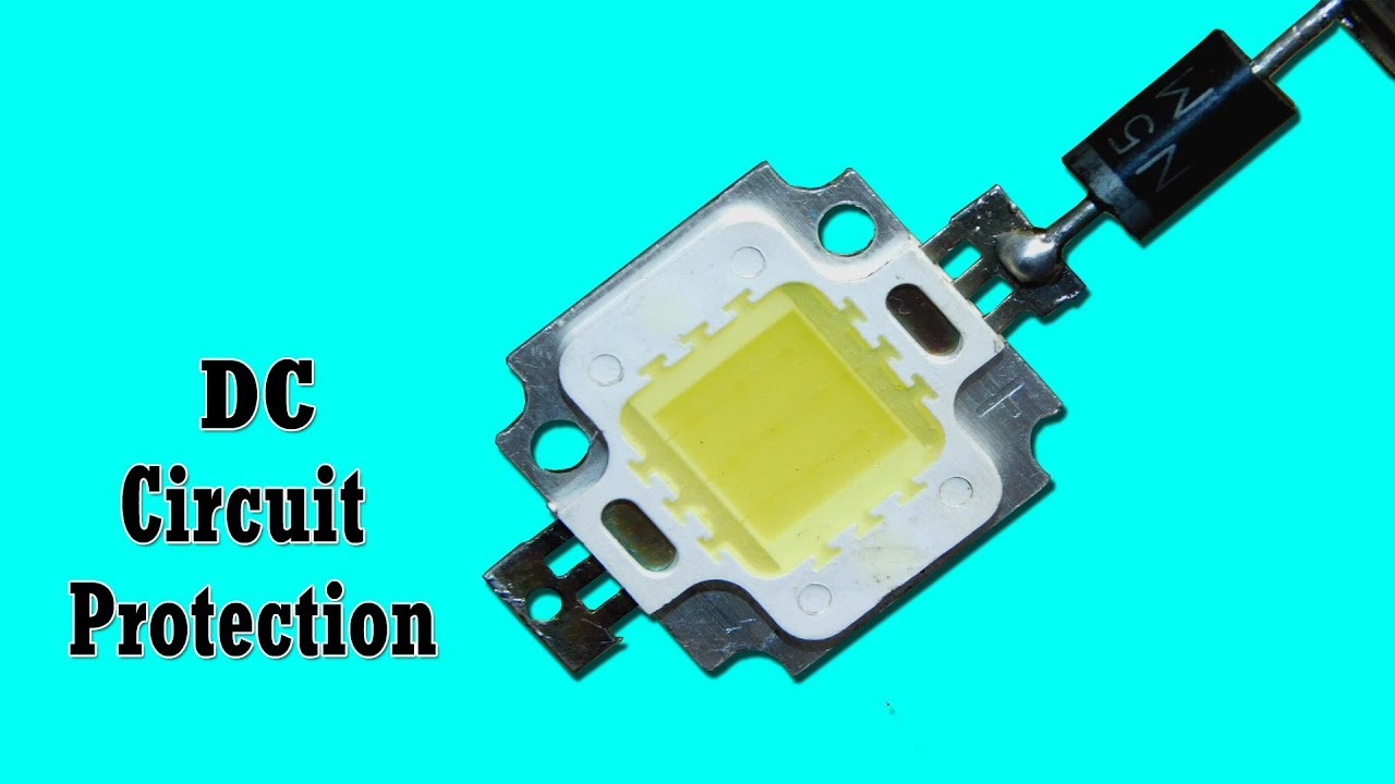 Simple Dc Circuit Protection Youtube Model