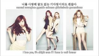 Taeyeon & Tiffany (SNSD) - 유리아이 / Lost In Love (Hangul & Romanization & Eng Sub)