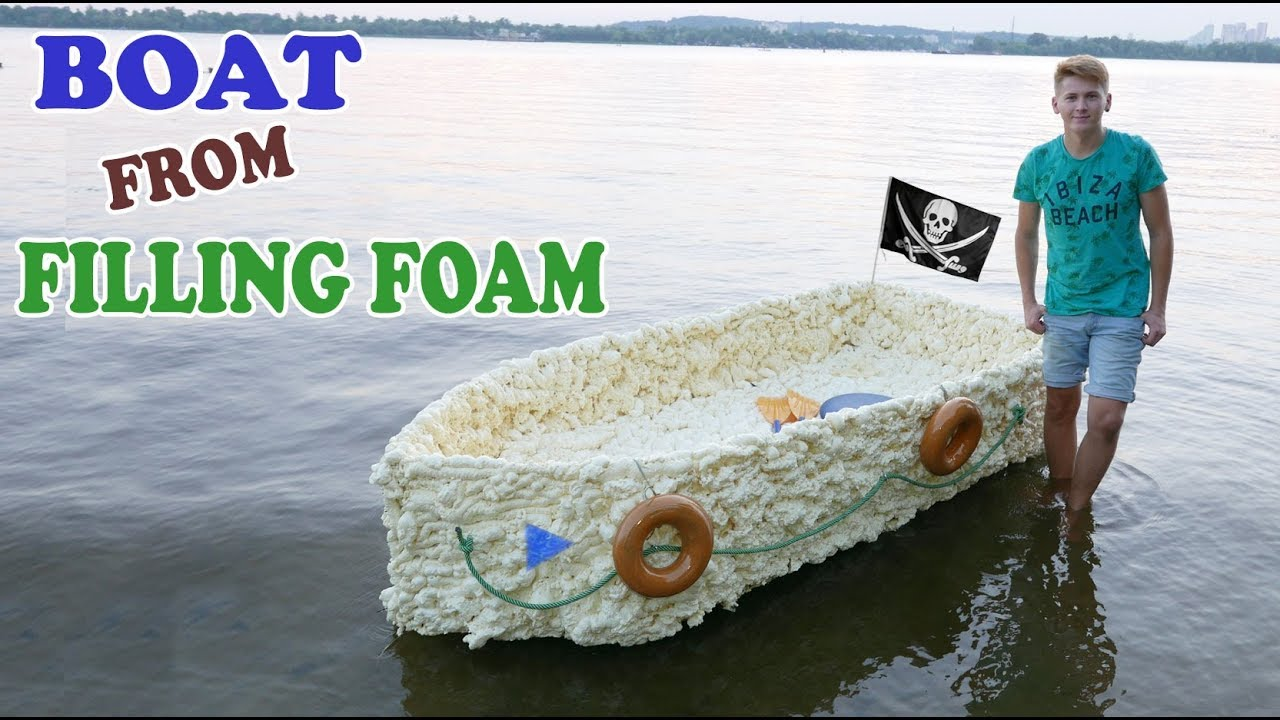 Boat From Filling Foam How To Make A Boat From Filling Foam Diy