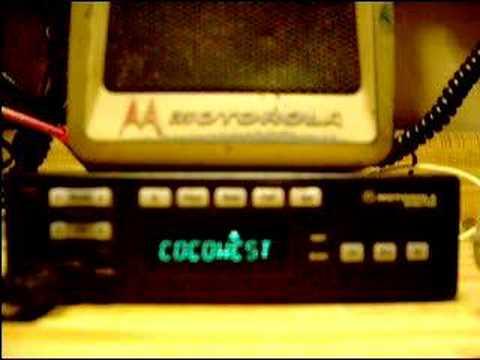 Motorola Spectra Radio W Scan On