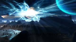 Levels v Calling Generation X (DJ Delta Mashup)