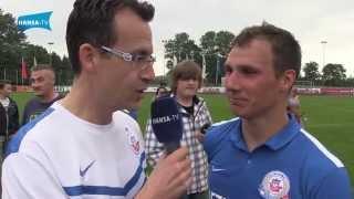 Interviews nach dem Spiel gegen PSV Ribnitz-Damgarten