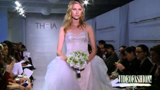 Theia White Collection Spring/Summer 2015 - Bridal Fashion Week | VF SPECIALS