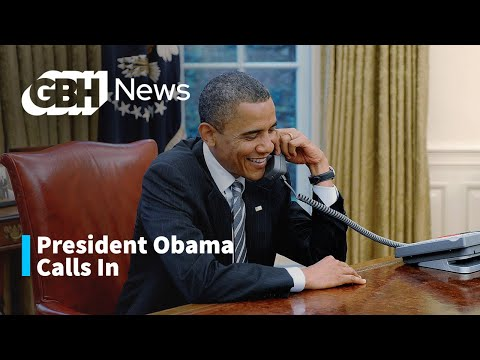 President Barack Obama Calls Into Boston Public Radio