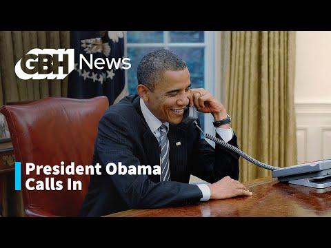 President Barack Obama Calls Into Boston Public Radio
