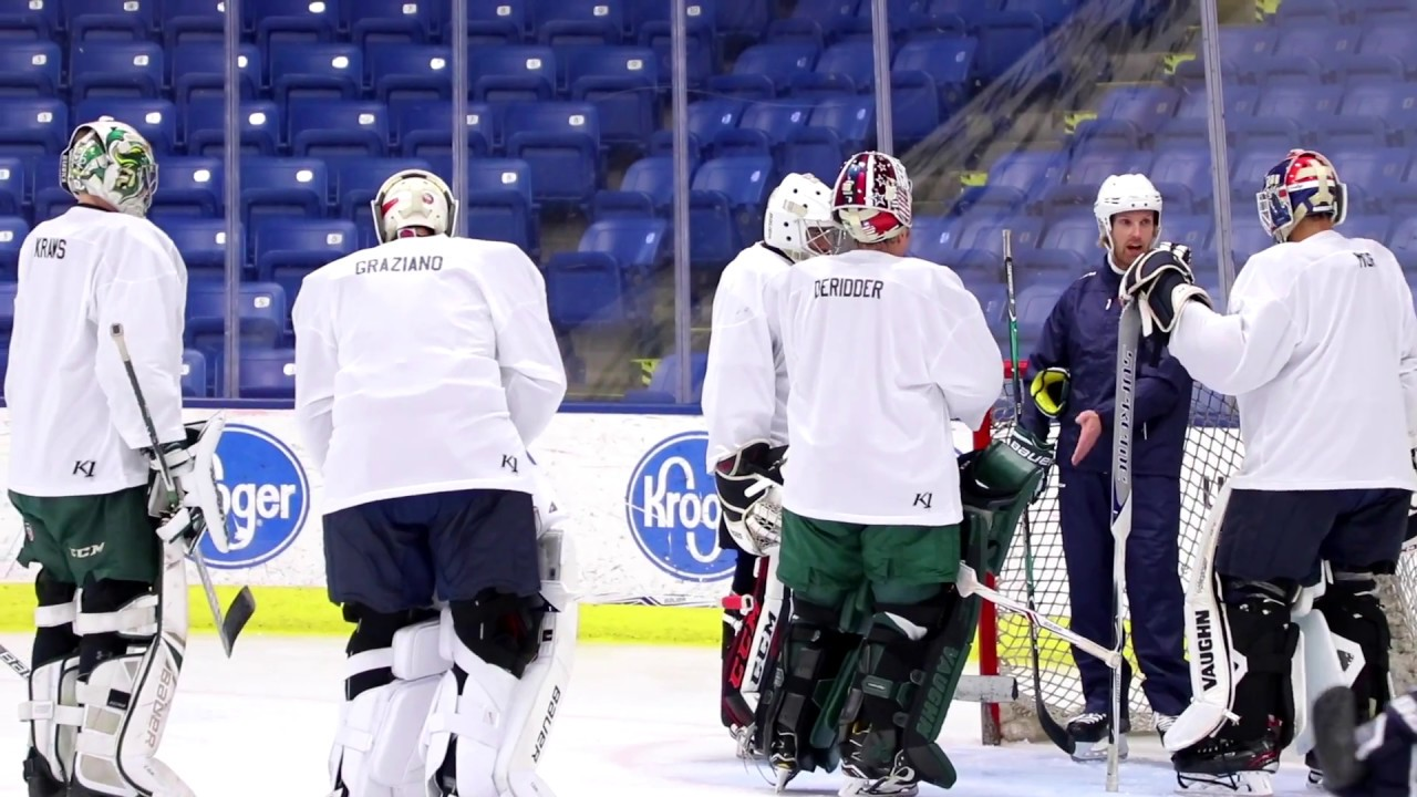 2018 Warren Strelow National Goaltending Camp Youtube