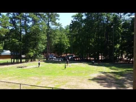 Anson County Parks and Recreation Youth Sports Camp 2016 Wiffleball Game