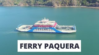 Taking the Ferry from Puntarenas to Paquera