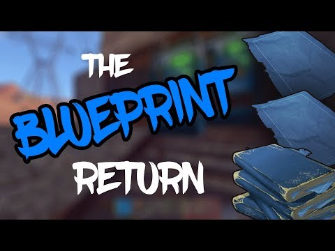 The BLUEPRINT Return! Rust Solo Survival