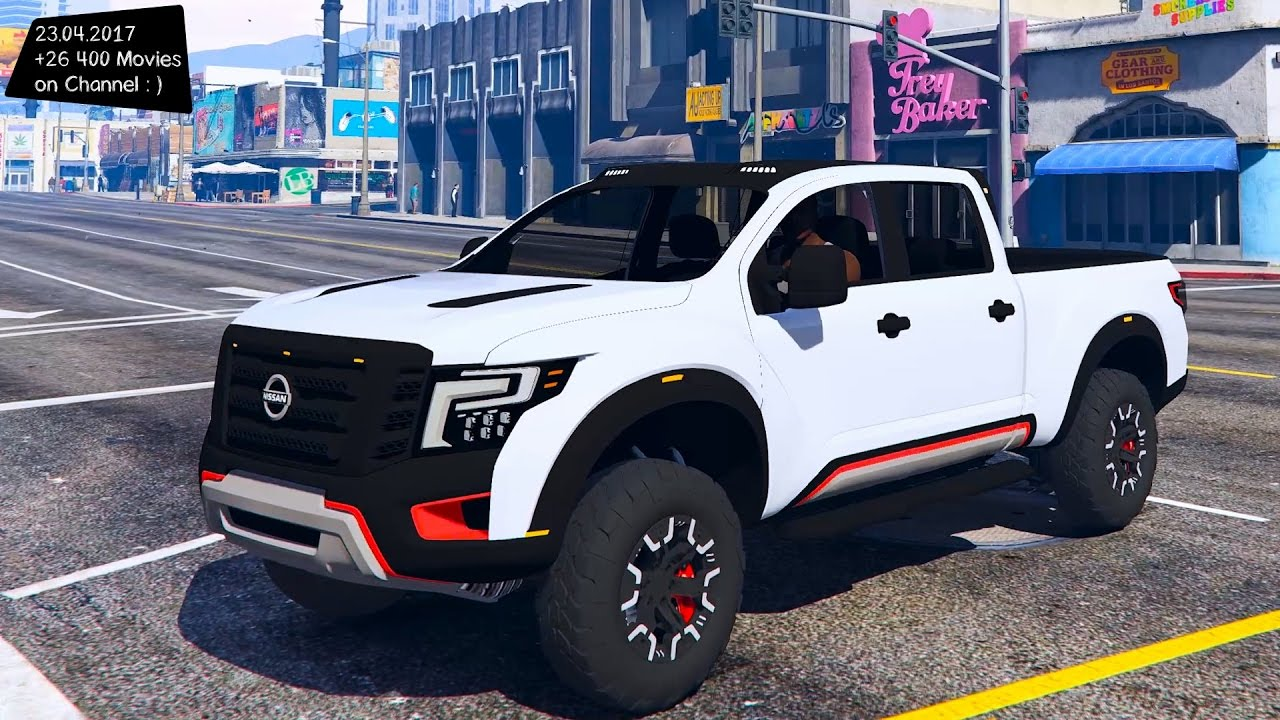 Nissan An Warrior 2017 New Enb Top Sd Test Gta Mod