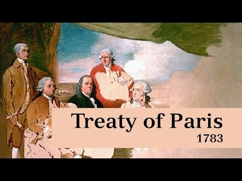 Treaty of Paris 1783 (American Revolutionary War)