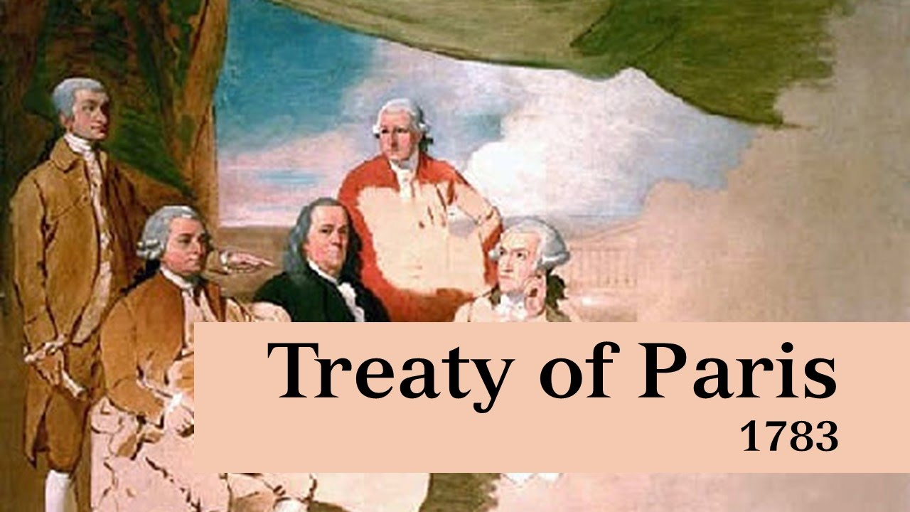 Image result for the treaty of paris ends the american revolution
