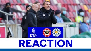 'An Outstanding Reaction' - Brendan Rodgers | Brentford 1 Manchester United 3 | 2020/21