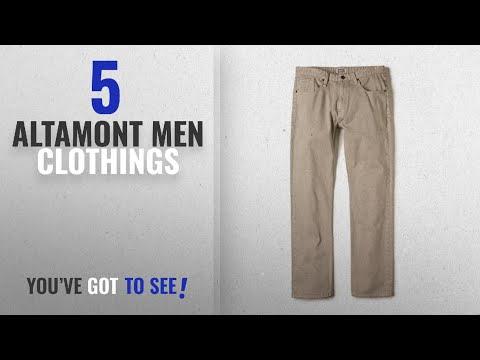 Top 10 Altamont Men Clothings [ Winter 2018 ]: ALTAMONT Skateboard PANTS WILSHIRE STRAIGHT DENIM