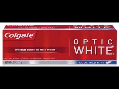 Colgate Optic White Toothpaste - Friday Finds