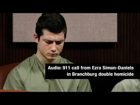 911 call from Ezra Simon-Daniels in Branchburg double homicide