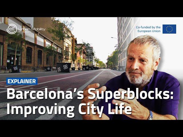 How can Superblocks improve city life? | With Salvador Rueda