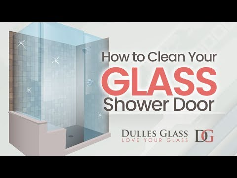 How to Clean Glass Shower Doors Quickly and Easily!