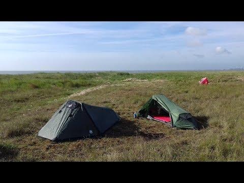 WILD CAMPING ON AN ISLAND (20/5/17)