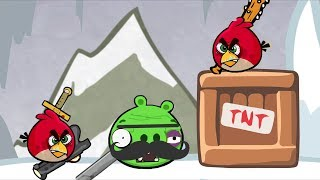 Angry Weirds - HERO ANGRY BIRDS RAGING FIGHTING ALL PIGGIES!