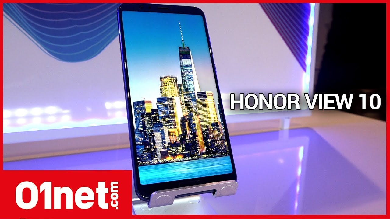 Prise en main du Honor View 10, inspiré du Huawei Mate 10 Pro