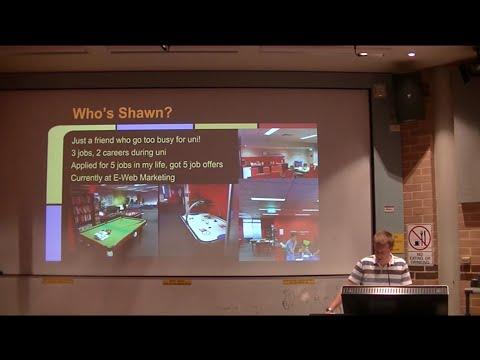 Shawn Powrie: Career Development workshop