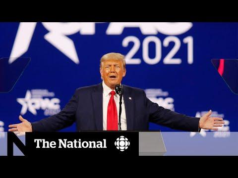 Trump hints at 2024 bid in 1st post-presidency appearance