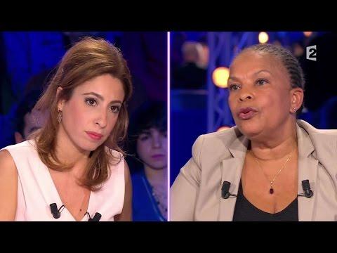 """Christiane Taubira au sujet de la radicalisation """"On n'a pas cessé de me faire des procès"""" #ONPC"""