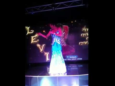 Levi show live at the palladium,  Levi was on Benidom tv series