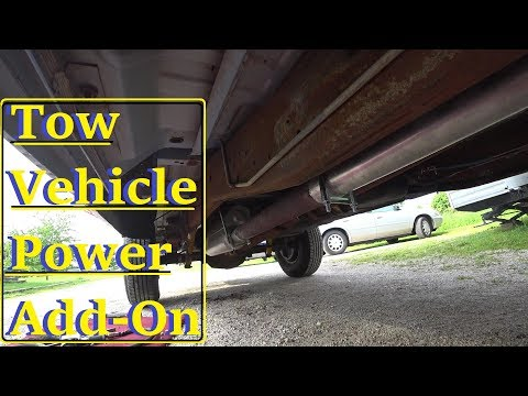 Tow Vehicle Upgrades and Garage mess