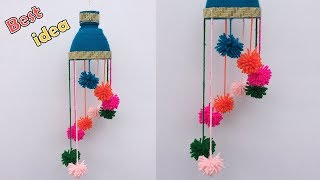 DIY plastic bottle craft idea | Hanging craft | best out of waste | plastic bottle reuse idea