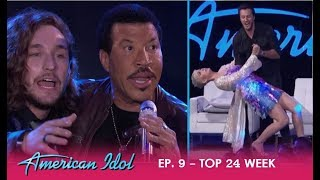 EPIC IDOL MOMENT: Lionel Richie Sings His ICONIC