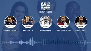 UNDISPUTED Audio Podcast (1.23.18) with Skip Bayless, Shannon Sharpe, Joy Taylor | UNDISPUTED
