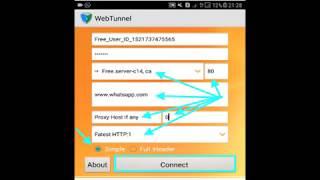 Server funcional para web tunnel en Personal Argentina Netfree