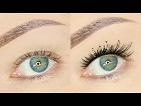 0bf1bdb528b How to Apply False Lashes on HOODED EYES!! | Stephanie Lange - YouTube