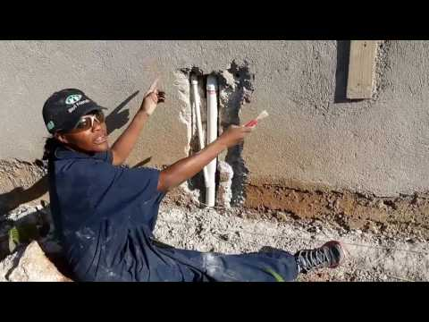 Building a House : Roughing in Kitchen Pipes