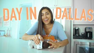 DAY IN MY LIFE IN DALLAS! - Favorite Spots To go, Workout, & MORE!!   Jeanine Amapola