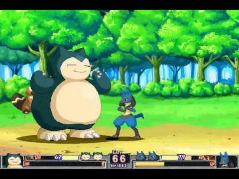 Pokemon Fighting Game - YouTube